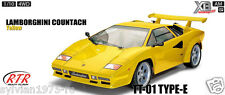 TAMIYA 84063  RC XB Lamborghini Countach - TT01E **  YELLOW  ** RTR NEW IN BOX