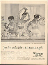 1951 Vintage ad  Warner's 3-way Sized Foundations and Bras`Sexy Models (120216)
