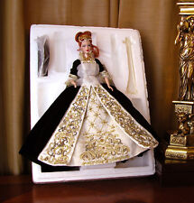 "Faberge Imperial Grace Barbie Porcelain Doll Limited Edition 11.5"" Mattel 2001.."