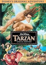 Disney's TARZAN rare Animated Kids dvd MINNIE DRIVER