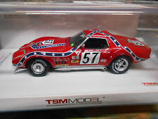 CHEVROLET Corvette L88 Racing Sebring 1972 #57 Heinz Johnson TSM Resin 1:43