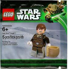 Lego Star Wars Han Solo Hoth Minifigure 5001621 Polybag BNIP **New** **Rare**