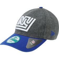 NEW ERA NFL New York NY Giants Woolen Crown 9FORTY Adjustable Hat Cap Baseball