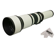 Opteka 650-1300mm HD Telephoto Zoom Lens for Canon EF EOS Digital SLR Camera