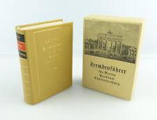#e2935 Minibuch: Fremdenführer für Berlin Potsdam Charlottenburg 1986