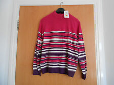 Lovely Ladies Marks and Spencer Striped Jumper, Size 10, BNWT RRP £22.50
