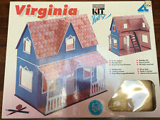 BNIB Artesania Latina Wooden DOLLHOUSE Building Model kit VIRGINIA Made in Spain