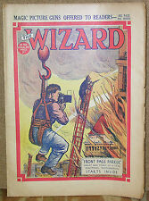 The Wizard #768-08/21/37-Vintage UK Boys' Adventure Magazine-Front Page Parker