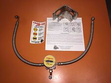 CROSSFIRE TIRE EQUALIZER SYSTEM 70 PSI STAINLESS STEEL HOSES