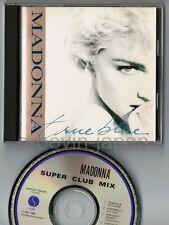 MADONNA True Blue Super Club Mix JAPAN CD WPCP-3439 w/PS BOOKLET 1990 resiuue