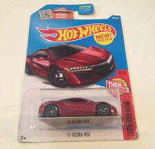 Hot Wheels Then And Now 2017 Acura NSX Red Diecast Scale 1:64