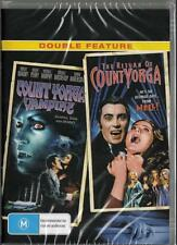 COUNT YORGA VAMPIRE & THE RETURN OF COUNT YORGA -  NEW DVD FREE LOCAL POST