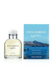 Dolce Gabbana Light Blue Discover Vulcano Pour Homme  Eau de Toilette 75ml New