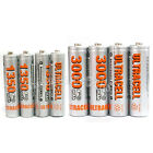 20 AA+20 AAA 1350mAh 3000mAh 1.2V NI-MH rechargeable battery 2A 3A Ultracell
