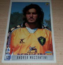 CARD CALCIATORI MUNDI CRONO 2000 PERUGIA MAZZANTINI CALCIO FOOTBALL SOCCER ALBUM