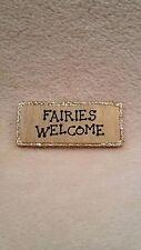 Fairy Door Welcome Mat, handpainted glitter Fairy door accessory,Pixie, Elf Door