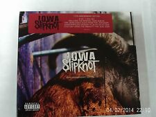 SLIPKNOT IOWA  10TH ANNIVERSARY EDITION 2 CD & 1 DVD SET UNSEALED DIGIPAK PROMO
