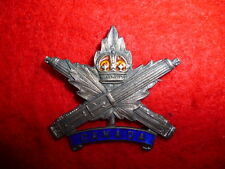 Canadian Machine Gun Corps Hallmarked 1917 Silver Sweetheart Pin CEF - WW1