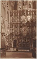 BR69288 southwark cathedral  postcard  altar screen  uk judges 168 real photo