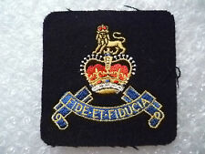 Blazer Badge- British Army Pay Corps Blazer Badge/ Patches (New*)