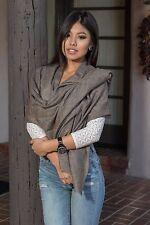 CS26 Handmade Pashmina Cashmere Stole Shawl Scarf Wrap Nepal Nepalese by Eksha