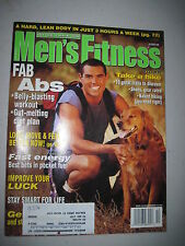 Men's Fitness October 1996. Ball Busting Abs! Hiking!  (gay interest)