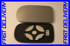 BMW 7  E38 1994-2001 WING MIRROR GLASS HEATED WIDE ANGLE CLIP ON RIGHT OR LEFT