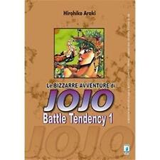 LE BIZZARRE AVVENTURE DI JOJO - BATTLE TENDENCY 1 DI 4 - STAR COMICS NUOVO