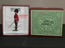 BRITAINS 49008 1907 HALF BOOTED IRISH GUARDS OFFICER METAL TOY SOLDIER FIGURE