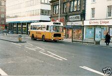 Colour Photograph of Busways - Newcastle - MUA 47P ex. West Yorkshire P.T.E.