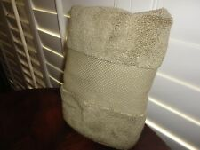 FRONTGATE  GREEN (1) THICK HAND TOWEL 15 X 27 100% COTTON