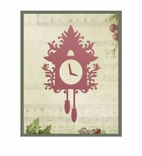 Couture Creations small cuckoo clock Cutting Embossing Die