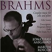Brahms: Complete Music For Cel, , New Condition