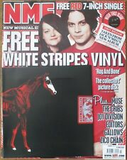WHITE STRIPES RAG AND BONE COLLECTORS RED VINYL + NME 6/07