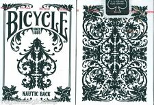 Nautic Back Deck Bicycle Playing Cards Poker Size USPCC Custom Limited Ed. New
