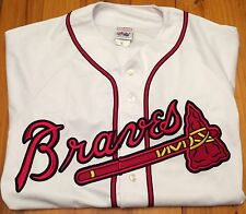 Official Majestic Atlanta Braves Home Jersey - XL - Baseball MLB ATL Southern