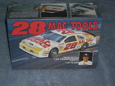 Monogram #28 Ernie Irvan Mac Tools T-Bird 1:24 model kit ~ Factory sealed ~