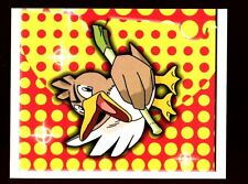 POKEMON CARTE MERLIN STICKER 1999 CARD N° 208 Canarticho Farfetch'd