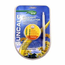 RAPITEST SUNCAL SOIL LAWN FLOWER GARDEN PLANT SUNLIGHT CALCULATOR TESTER METER