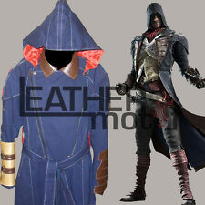 Assassin's Creed Unity Real Cotton Blue Trench Coat