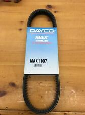 Dayco Drive Belt *1107 For John Deere SNOWFIRE 82-84 SPITFIRE 80-82