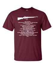 THIS IS MY RIFLE Prayer Full Metal Jacket Gun WHITE PRINT Men's Tee Shirt 901
