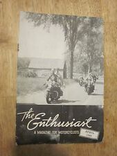 1948 Harley Davidson The Enthusiast Magazine April Motorcycle Clubs