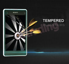 FRONT + BACK Tempered Glass Screen Protector for Sony Xperia Z1 Compact D5503