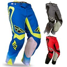 FLY EVOLUTION CLEAN MOTOCROSS PANTS SIZE 36 BLU/HI VIS