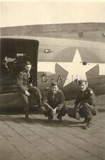 WWII US RP- Airplane- Bomber- Twins- Tempelhof Airport Berlin Germany- 1946