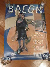 FRANCIS BACON:TATE GALLERY EXHIBITION POSTER