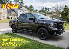 "2009-2015 Ram 1500 2010-2017 Ram 2500/3500 3"" N-Fab Nerf Bars Side Steps Txtrd"