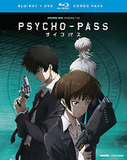 Psycho-Pass : Season One ( Blu-ray + DVD Combo , 2016, 8-Discs Set w/ slipcover)