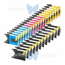 30 PACK LC71 LC75 Compatible Ink Cartirdge for BROTHER Printer MFC-J435W LC75